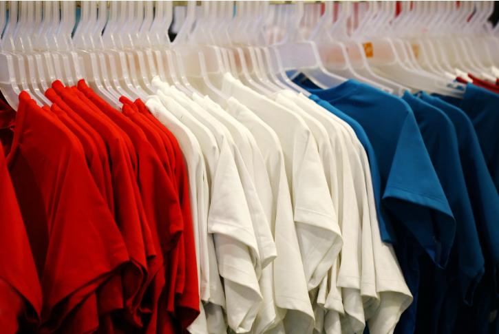 color coded wardrobe