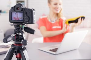 Shooting a video tutorial for your vlog